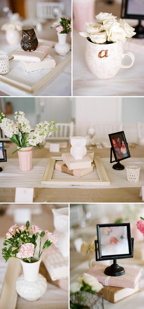 feminine pink owl themed baby shower oleana 39 s blog